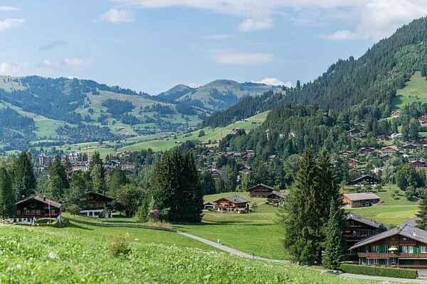 Ferienwohnung in Gstaad