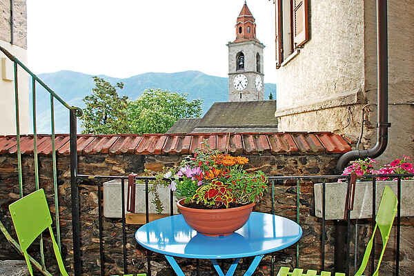 Appartement in Ronco sopra Ascona