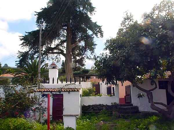 Byhus i Santa Cruz de Tenerife