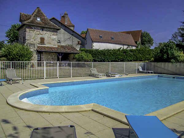 Villa i Latouille-Lentillac