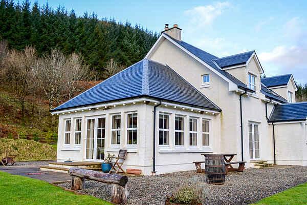 Villa in Lochaline
