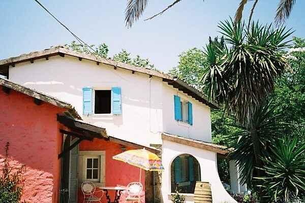 Villa i Korfu