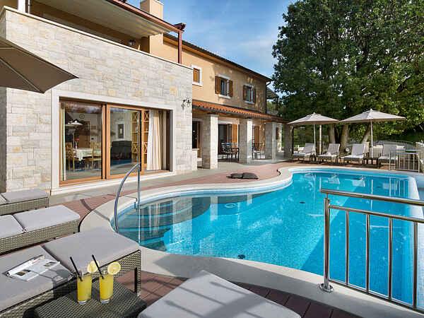 Villa i Labin