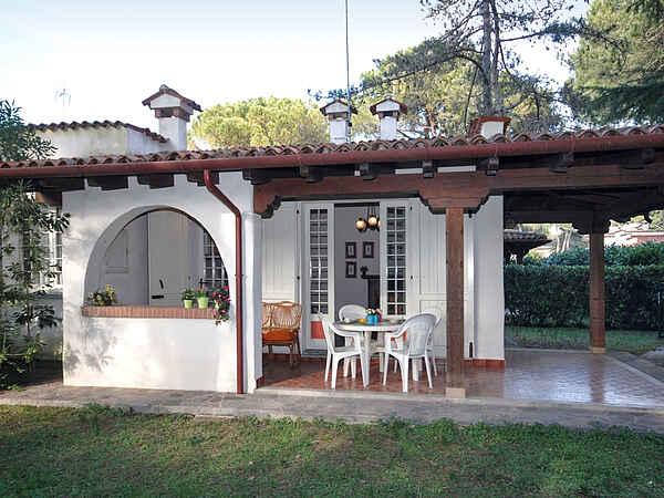 Byhus i Lignano Pineta