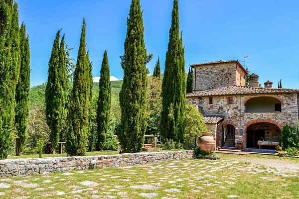 Villa in Gaiole in Chianti