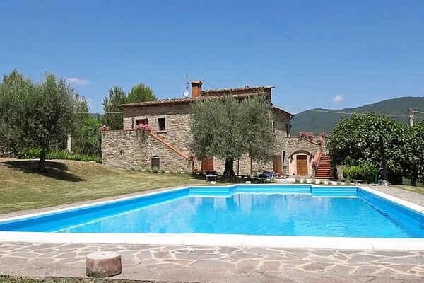 Villa i Lisciano Niccone