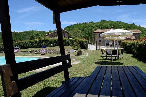 Villa i Fratticiola Selvatica