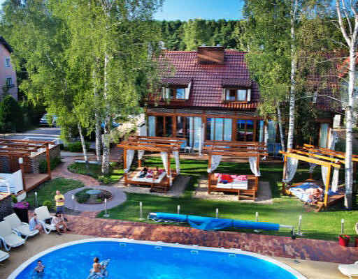 Villa i Chorążówka