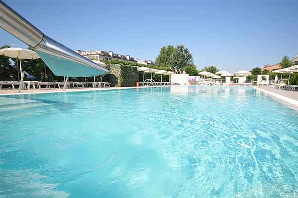 Apartment for 2 with pool at the Adriatic Coast