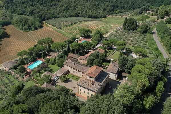Sommerhus i Siena