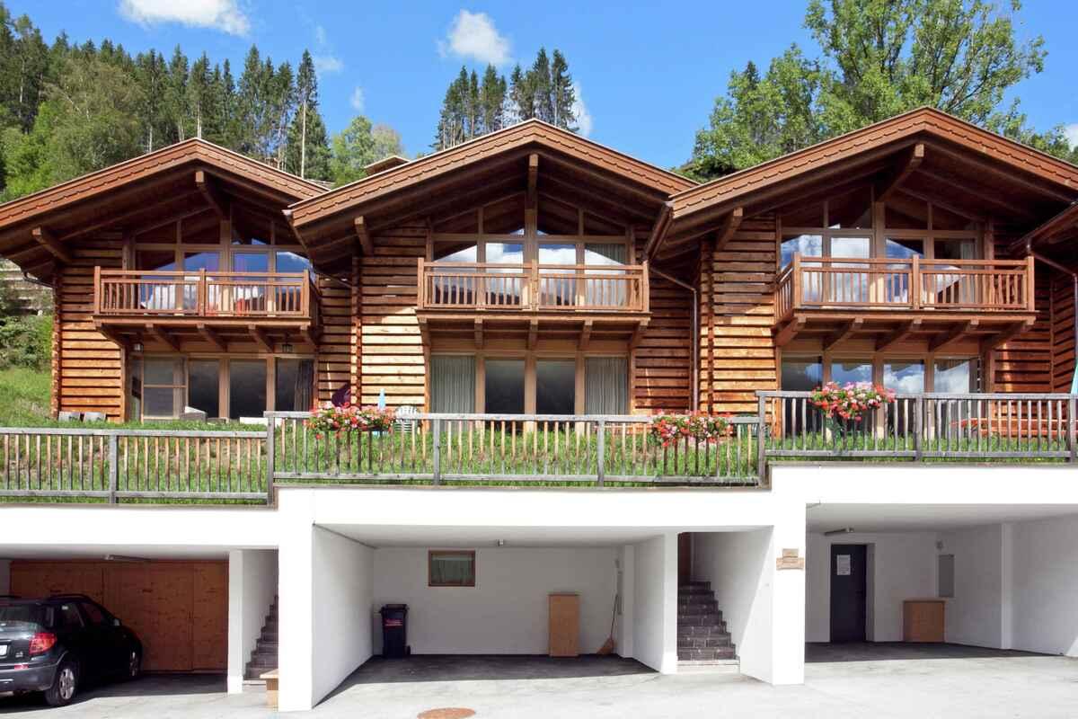 Landhaus in wald im pinzgau sterreich for Hohe doppelbetten