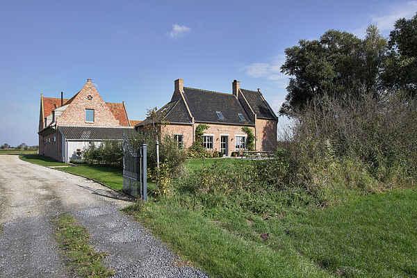 Manor house in Kaaskerke
