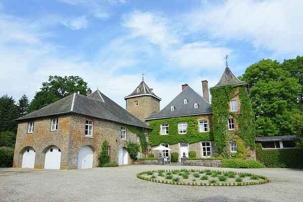 Castle i Bastogne