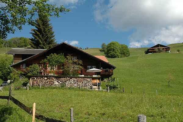 Farm house in Habkern