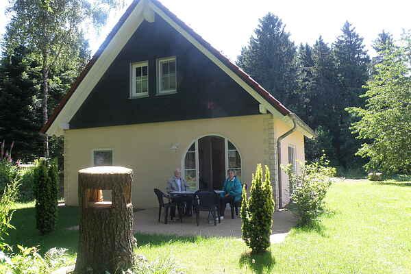 Herregård i Großlangenfeld
