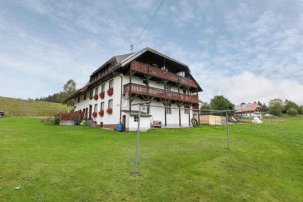 Gårdhus i Sankt Blasien