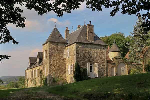 Castle i Villapourçon