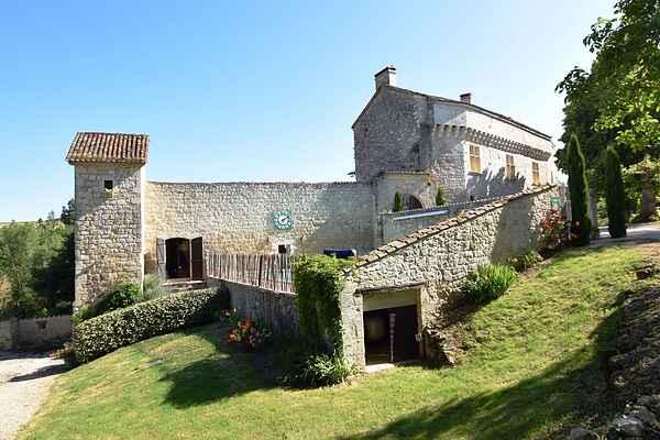 Castle in Castelculier