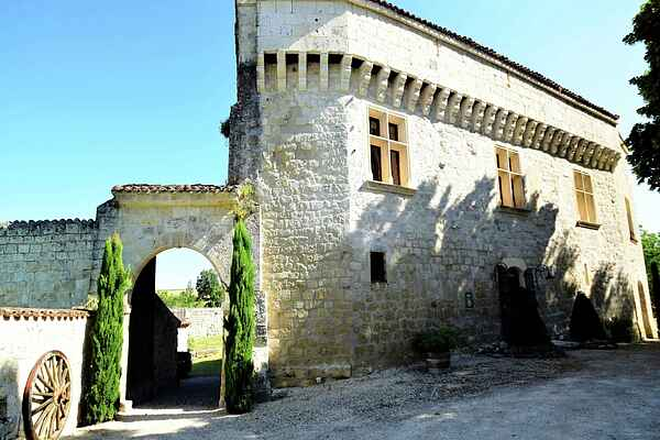 Castle i Castelculier