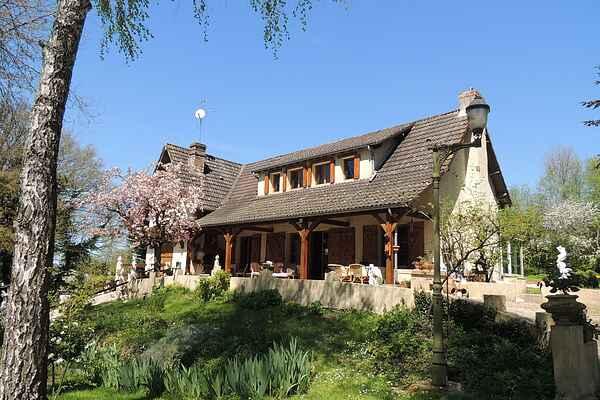 Herregård i Vailly-sur-Sauldre