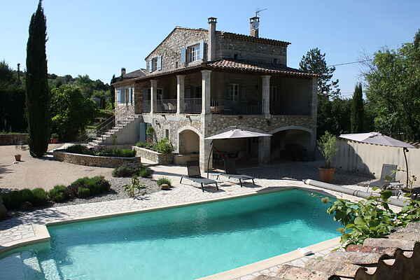 Holiday home in Saint-Sauveur-de-Cruzières