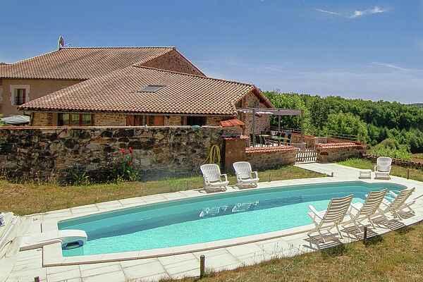 Casa de vacaciones en Montemboeuf