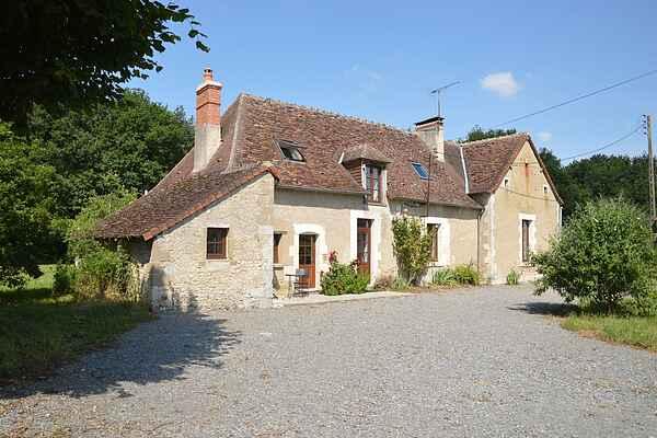 Gårdhus i Le Blanc