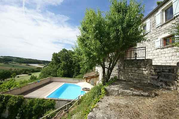 Ferienhaus in Castelnau-Montratier