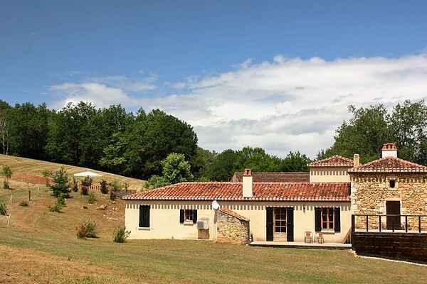 Ferienhaus in Montayral