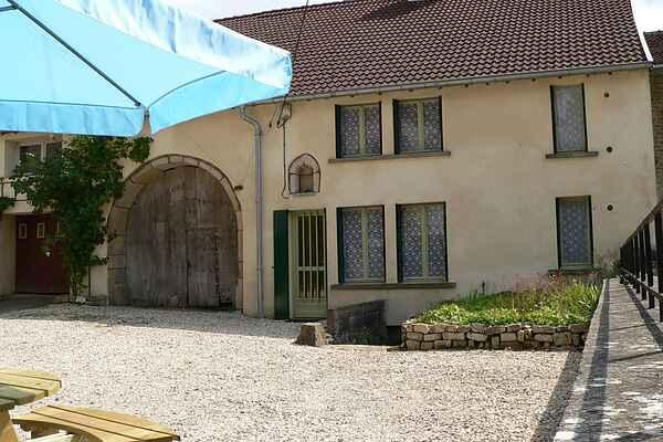 Gårdhus i Jussey