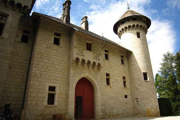 Castle i Serrières-en-Chautagne