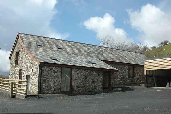 Gårdhus i Llanafanfawr