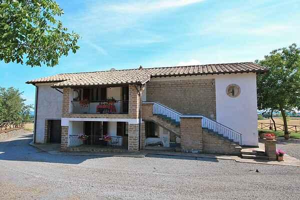 Gårdhus i Bagnoregio