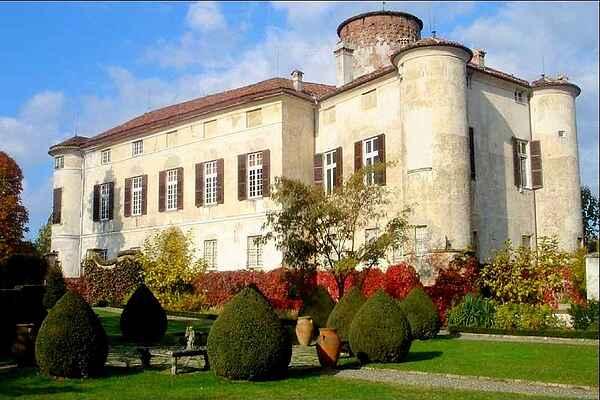 Castle in Rocca Grimalda