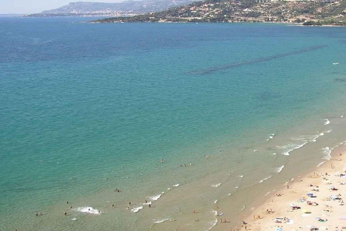 Acqua a Ventimiglia nel maggio