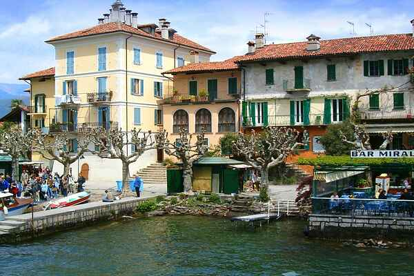 Herregård i Isola Superiore