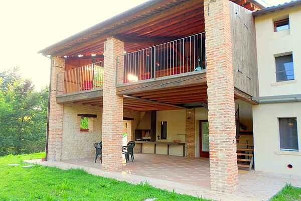 Gårdhus i Asolo