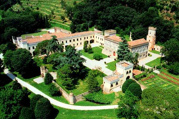 Castle i Monselice