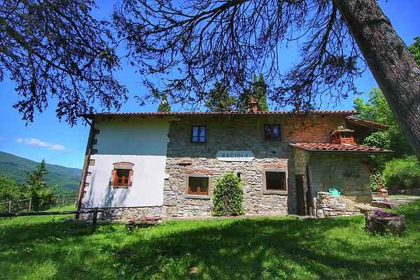 Farm house in Ortignano Raggiolo