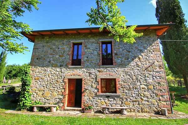Casa de vacaciones en Ortignano Raggiolo