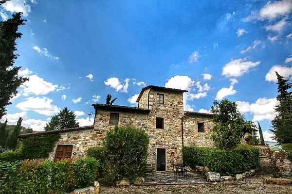 Gårdhus i Radda in Chianti