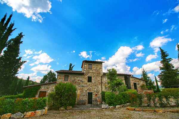 Farm house in Radda in Chianti