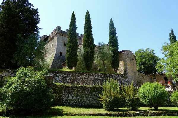 Castle in Monteriggioni