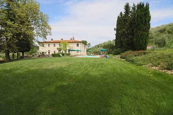 Gårdhus i San Gimignano