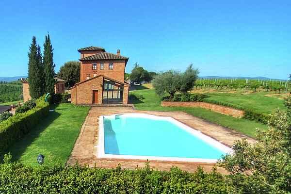Farm house in Montepulciano