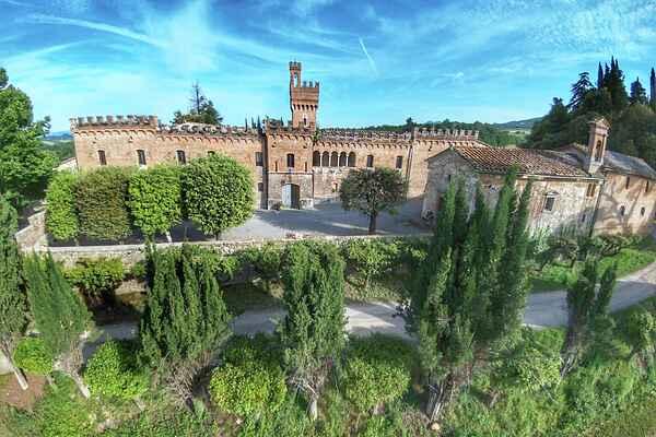 Castle in Sarteano