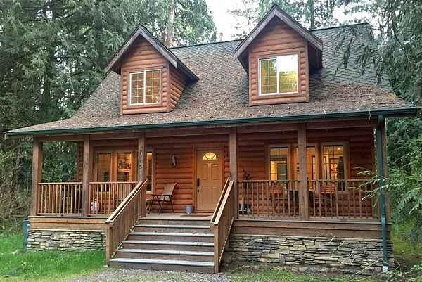 Glacier Springs Cabin #89 - Cedar and Log Cabin!
