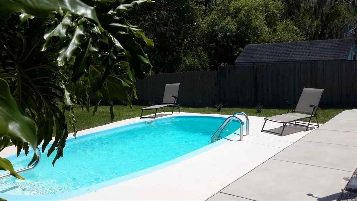 Daytona Beach Fritidshus med pool 3br/2br 6 pers