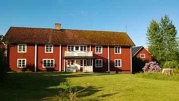 Gussagården; ett stort och underbart hus