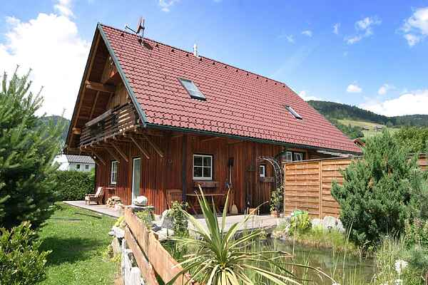 Hytte i Einach